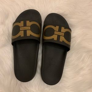 Salvatore Ferragamo slide sandals